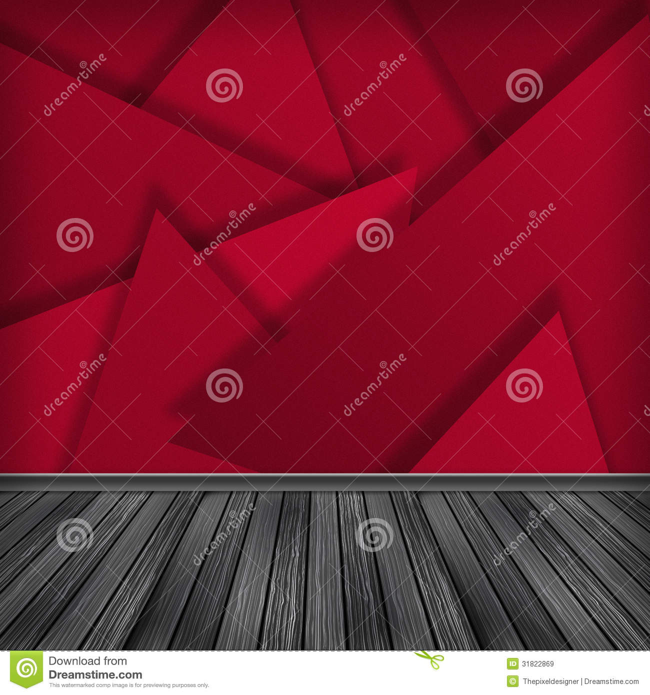 Empty Room Interior Royalty Free Stock Images Image