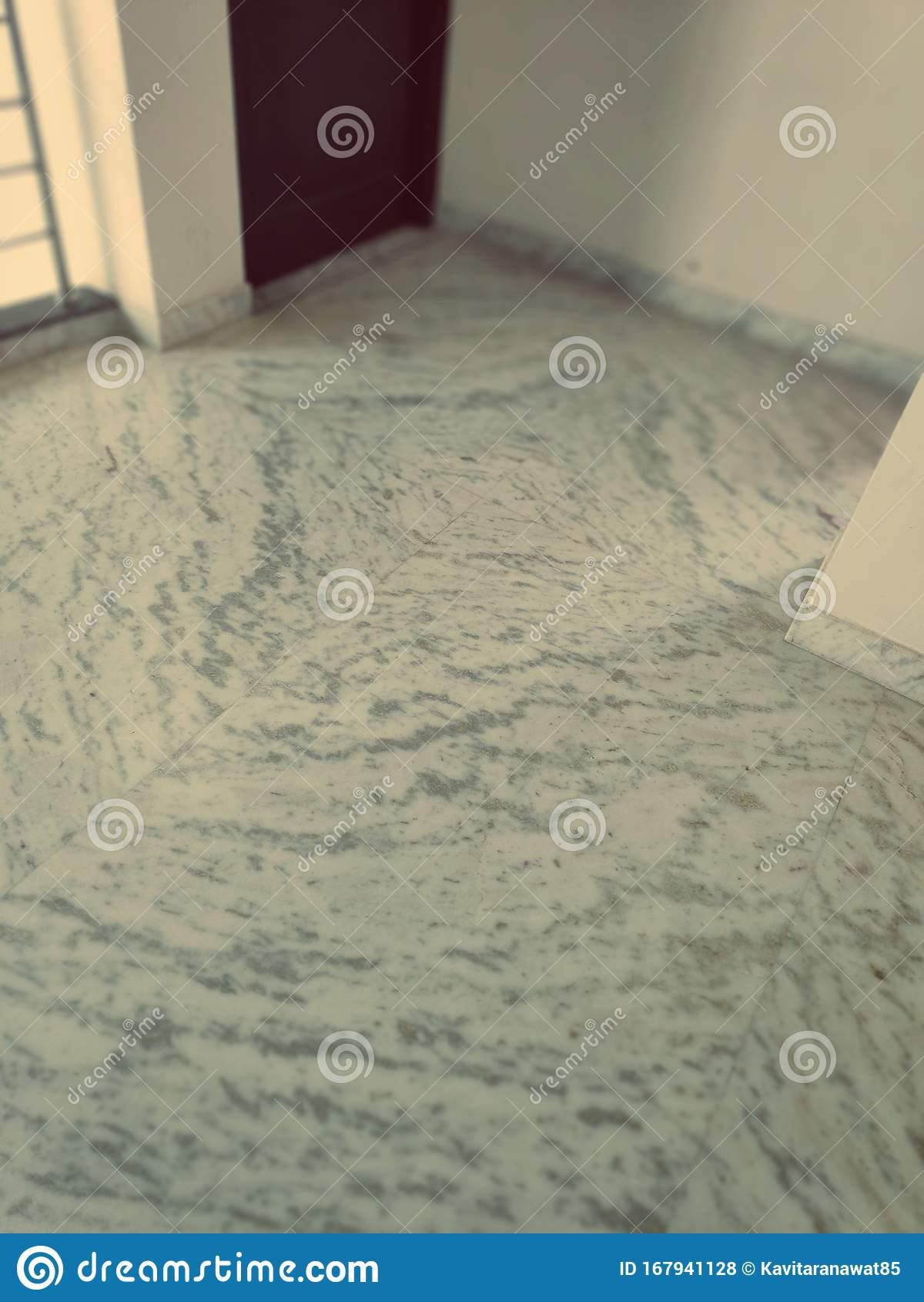 Empty Room With Marble Floor Stock Photo Image Of Background Empty 167941128