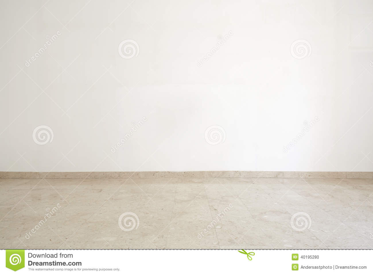 Empty Room With Marble Floor Stock Photo Image Of House