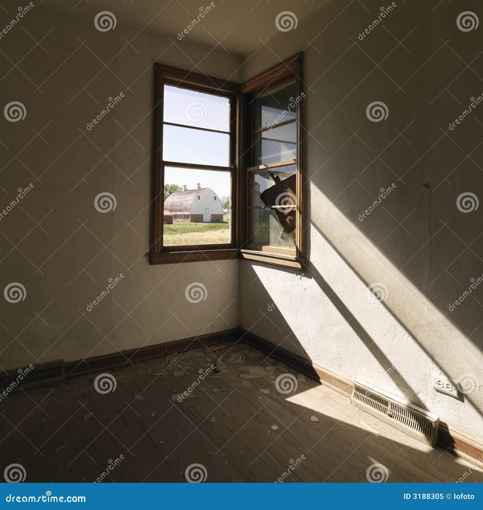 Dark empty room with window - Empty Room With Window Dark Empty Room With Window