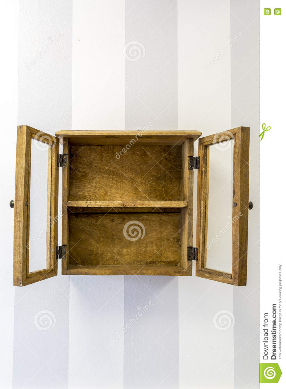 royaltyfree stock photo download empty rustic wall mounted display cabinet