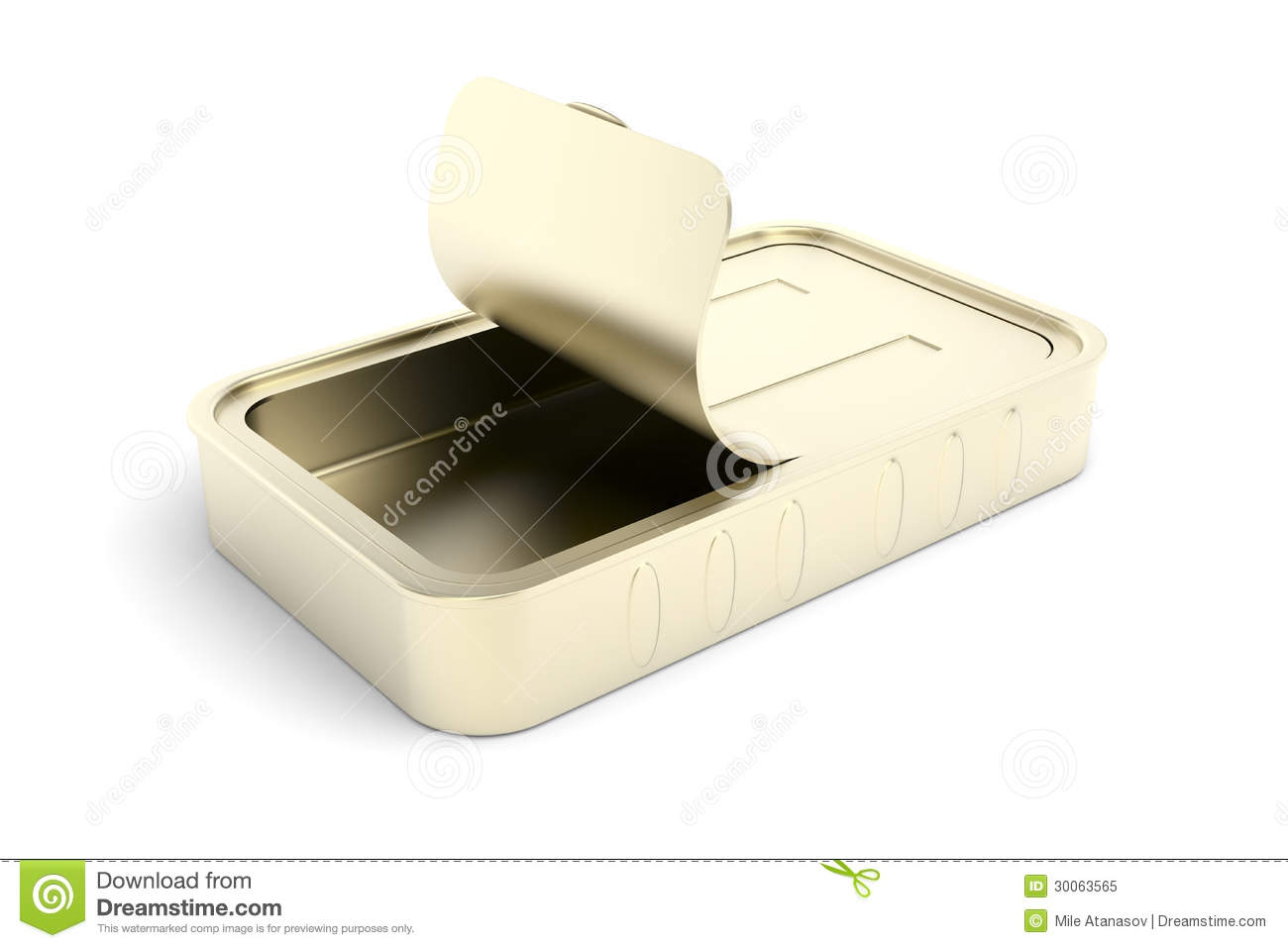 Empty sardine can royalty free stock photo image 30063565 for Empty sardine cans