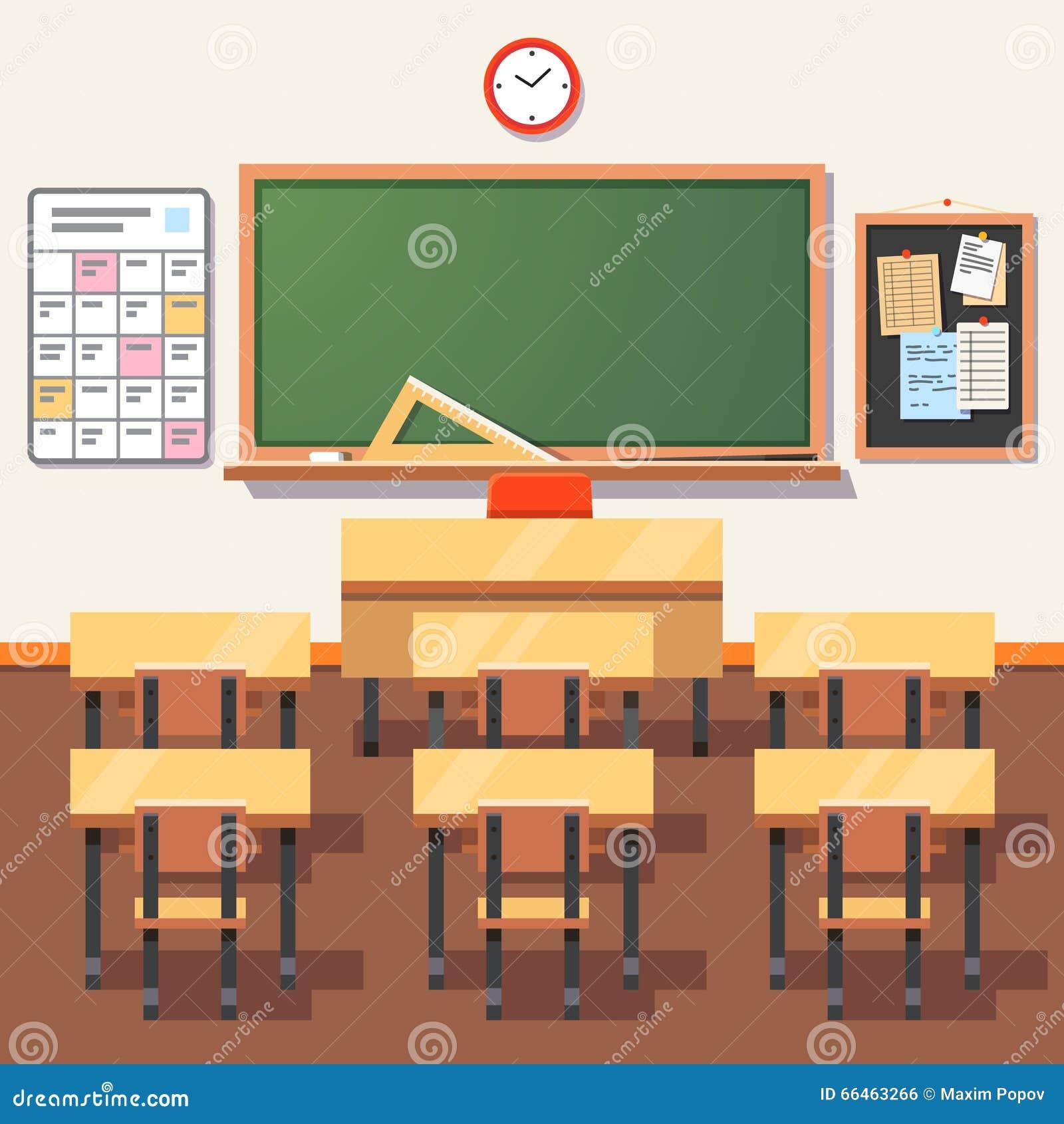 empty classroom with teacher - photo #40