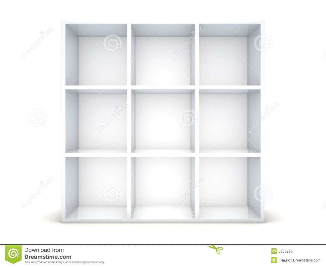 Empty Shelf Royalty Free Stock Image Image 5306726