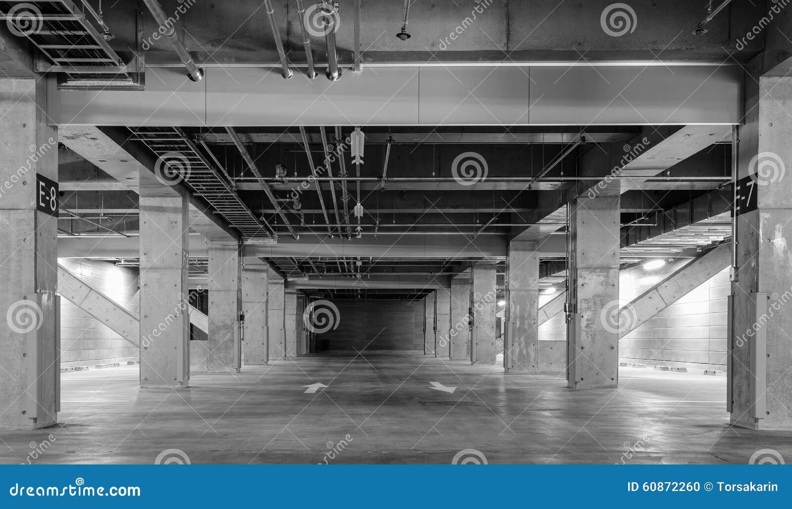 empty car park royalty free stock photo 78809847. Black Bedroom Furniture Sets. Home Design Ideas