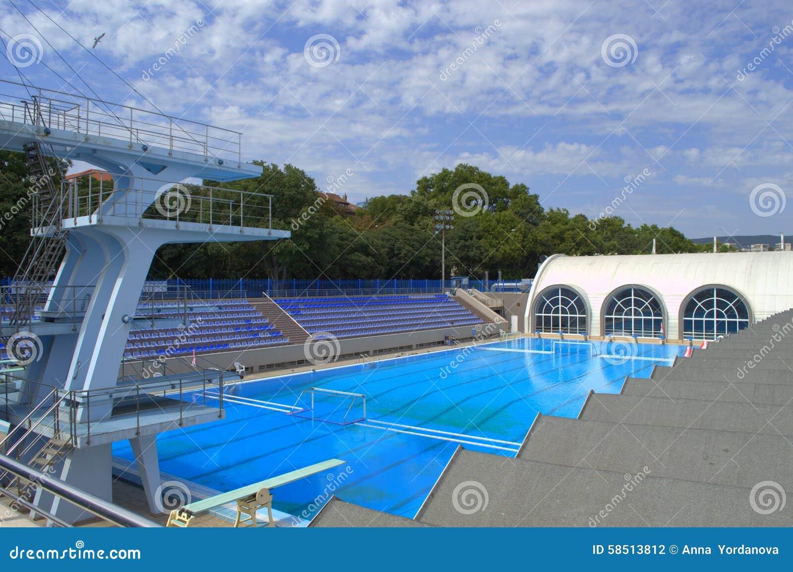 Empty Sport Swimming Complex Stock Photo Image Of Nobody Indoor 58513812