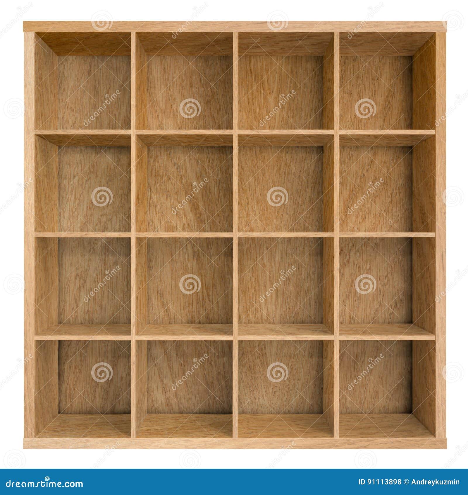 Square Bookshelf Home Design