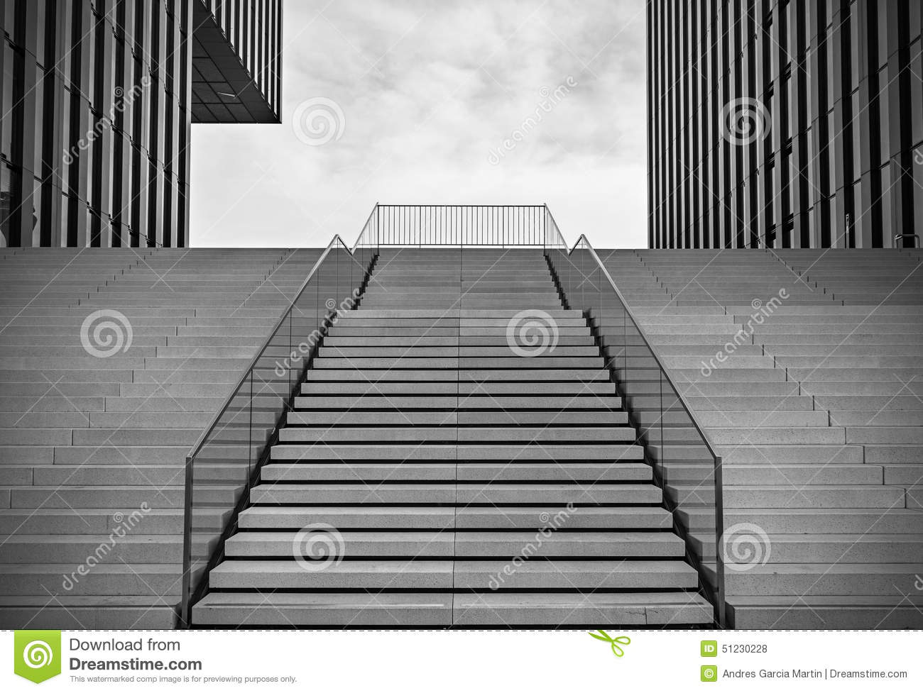 Beau Empty Stairs