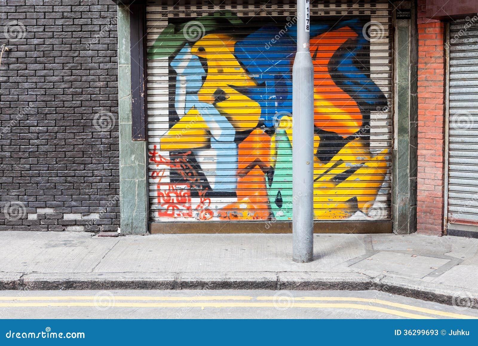 empty street graffiti background stock photos image