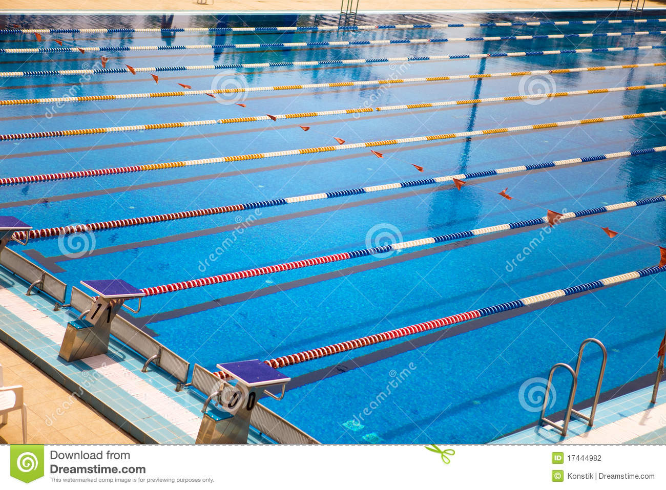 Empty swimming pool bright solar day stock photography for Empty swimming pool