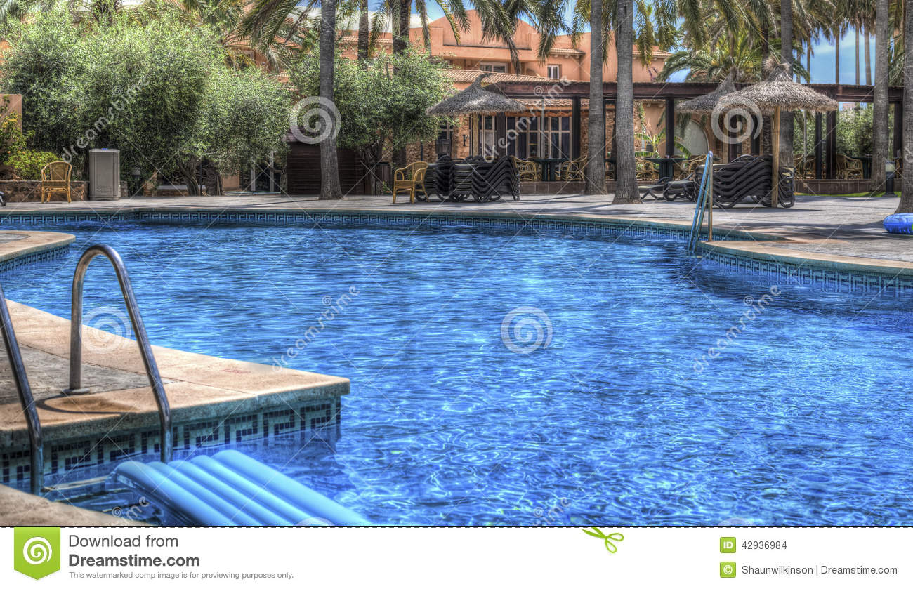 Empty Swimming Pools Stock Photo Image 42936984