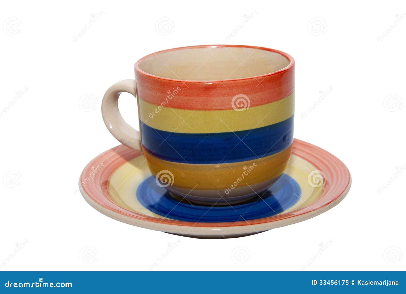 Empty Tea Coffee Cup Royalty Free Stock Photo - Image ...