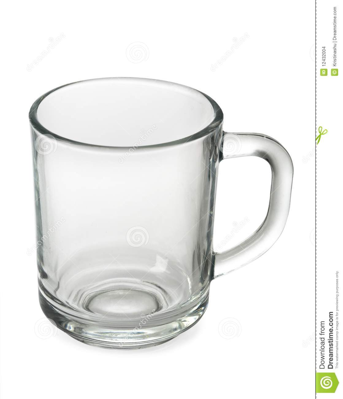 An Empty Tea Cup Stock Images - Image: 12432004