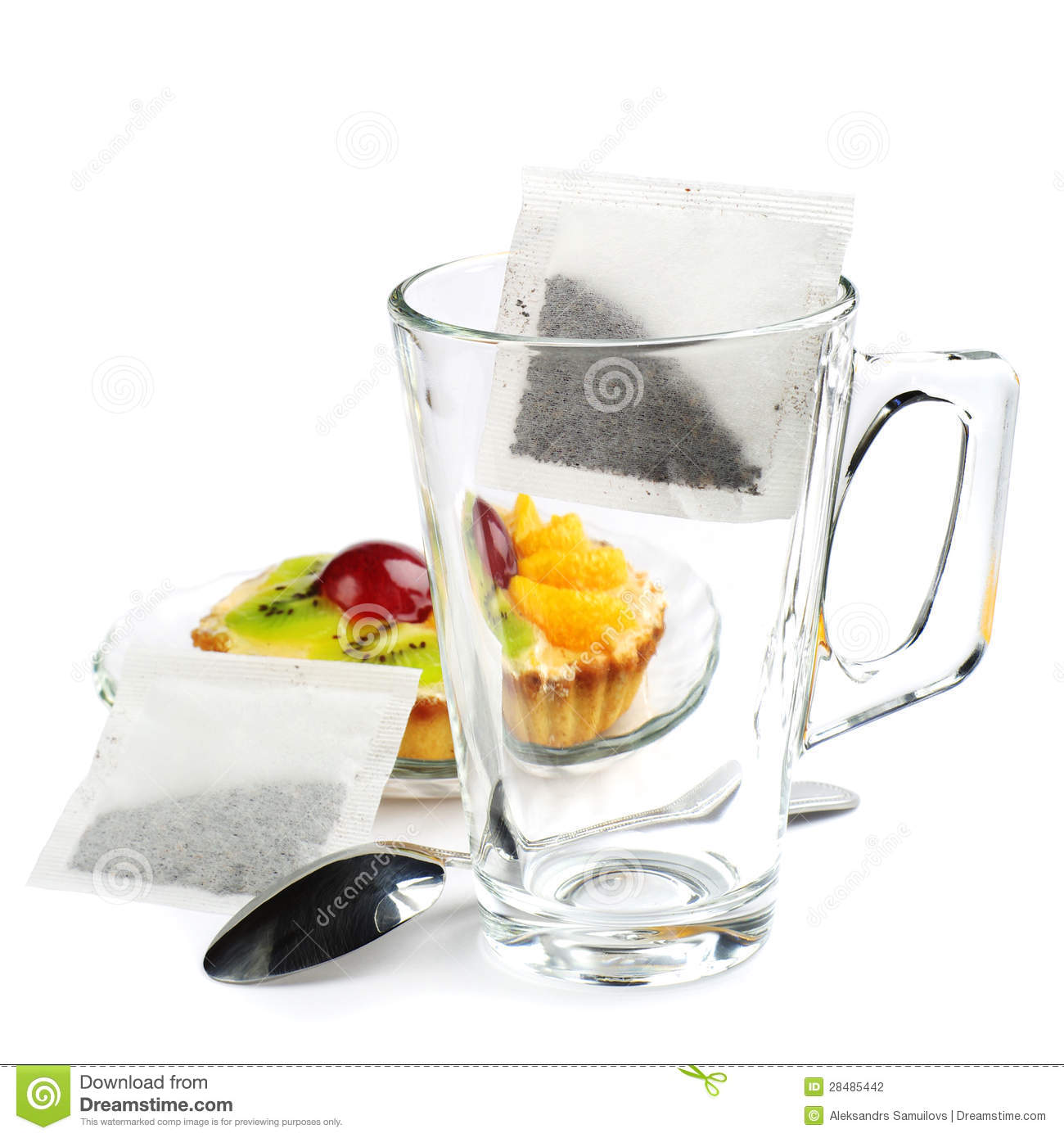 Empty Tea Cup Stock Photography - Image: 28485442