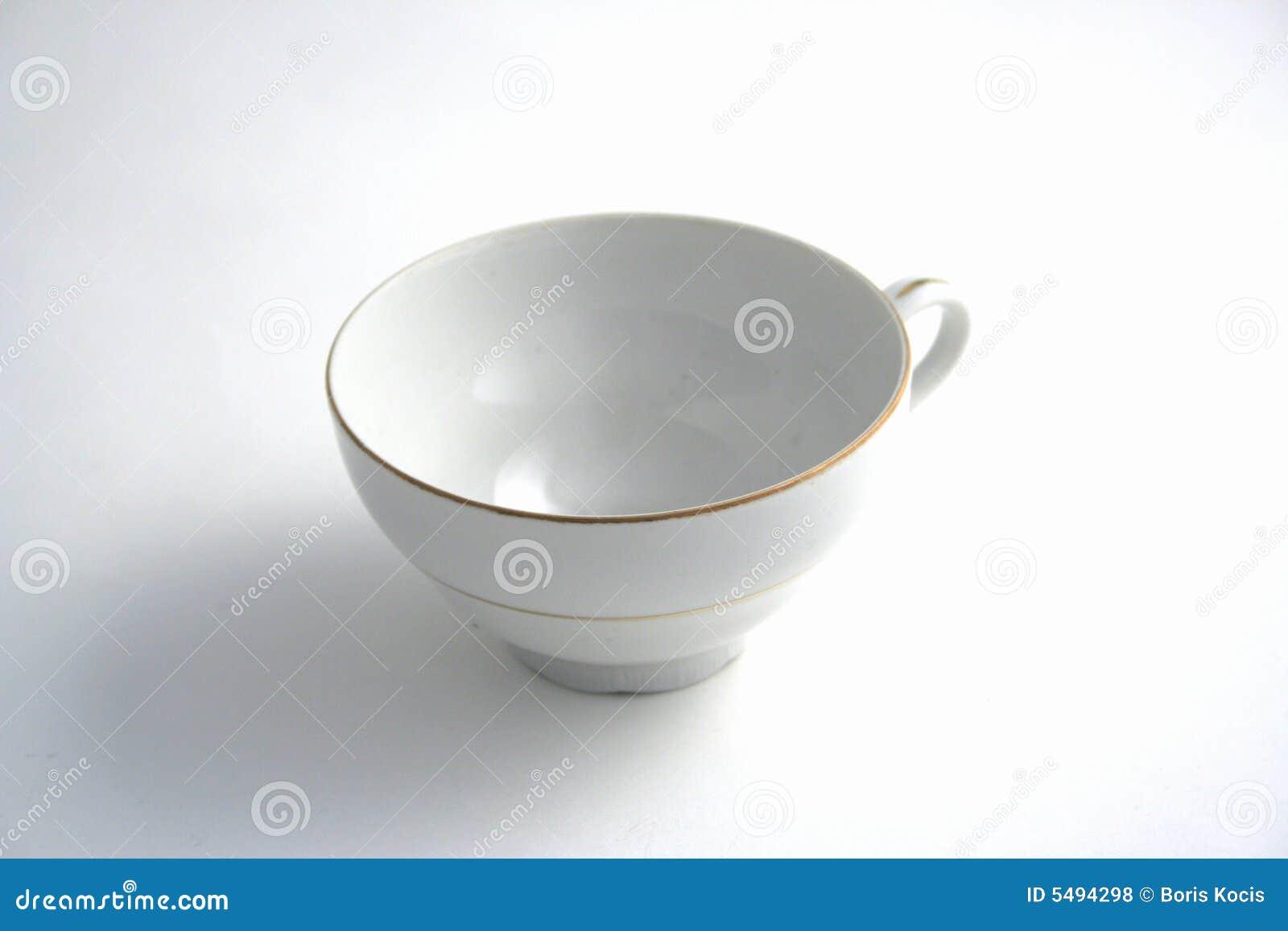 Empty Tea Cup Royalty Free Stock Photos - Image: 5494298