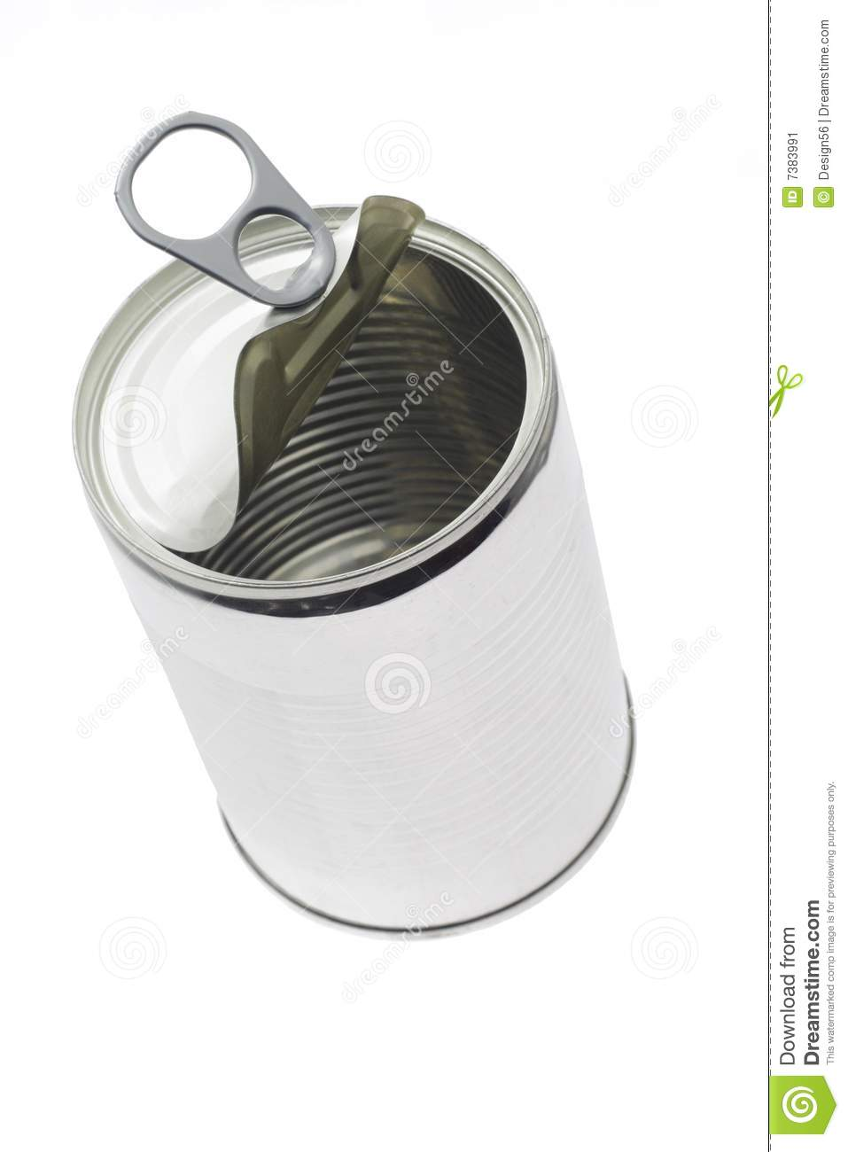 Empty Tin Can Stock Photography: Empty Tin Can Stock Image. Image Of Ring, Container