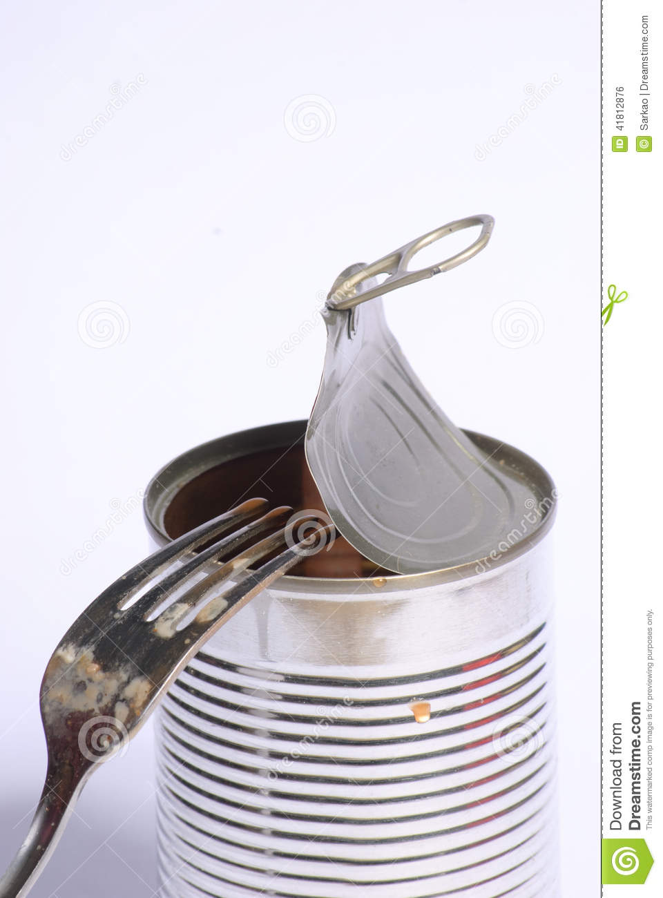 Empty Tin Can Stock Photography: Empty Tin Can Stock Photo