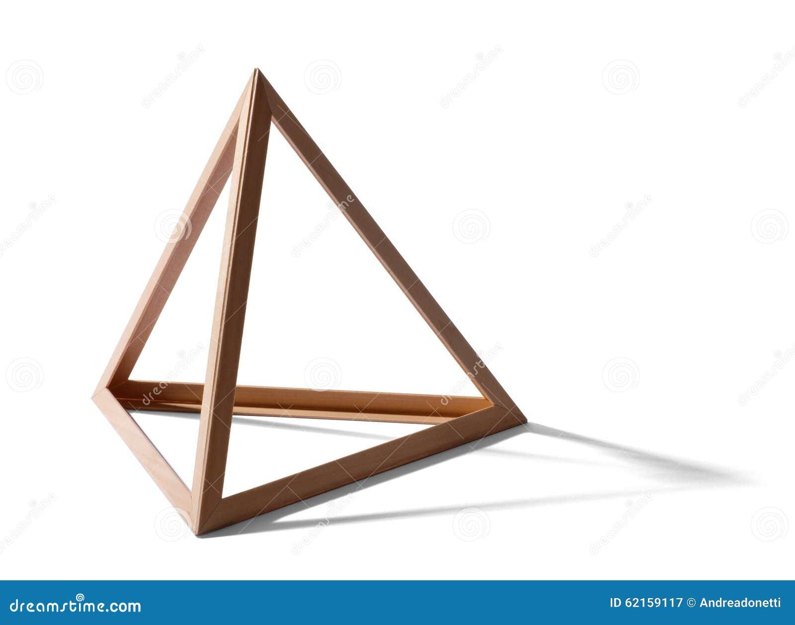 empty triangular frame