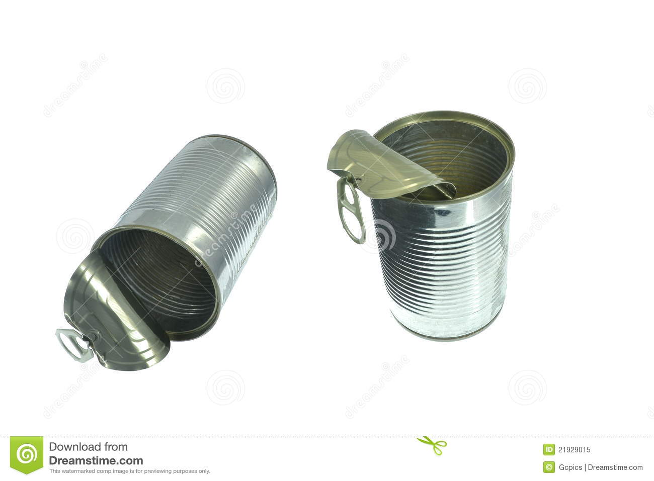 Tin Cans Food Storage
