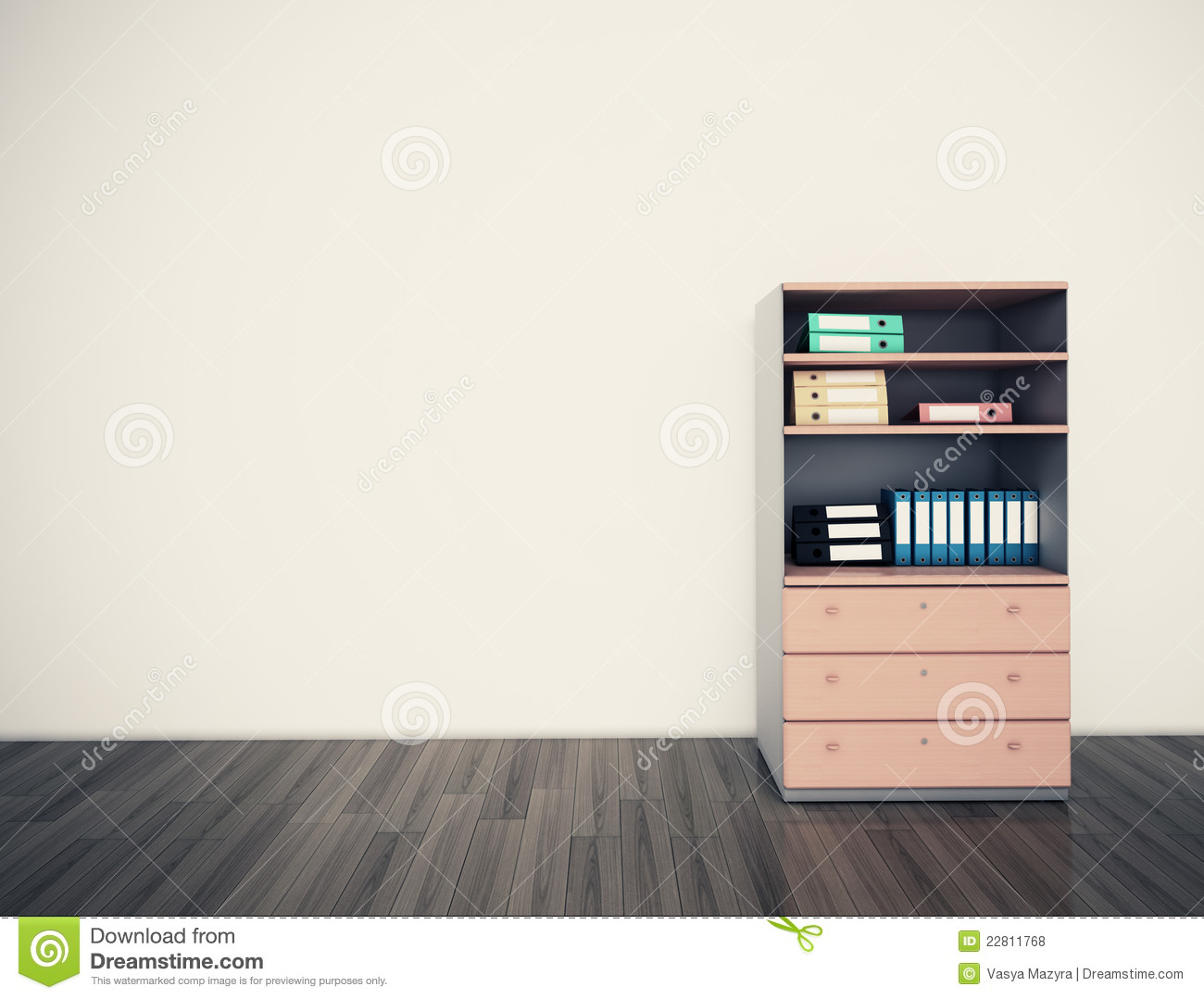 Wondrous Empty Wall Office Royalty Free Stock Photos Image 22811768 Largest Home Design Picture Inspirations Pitcheantrous