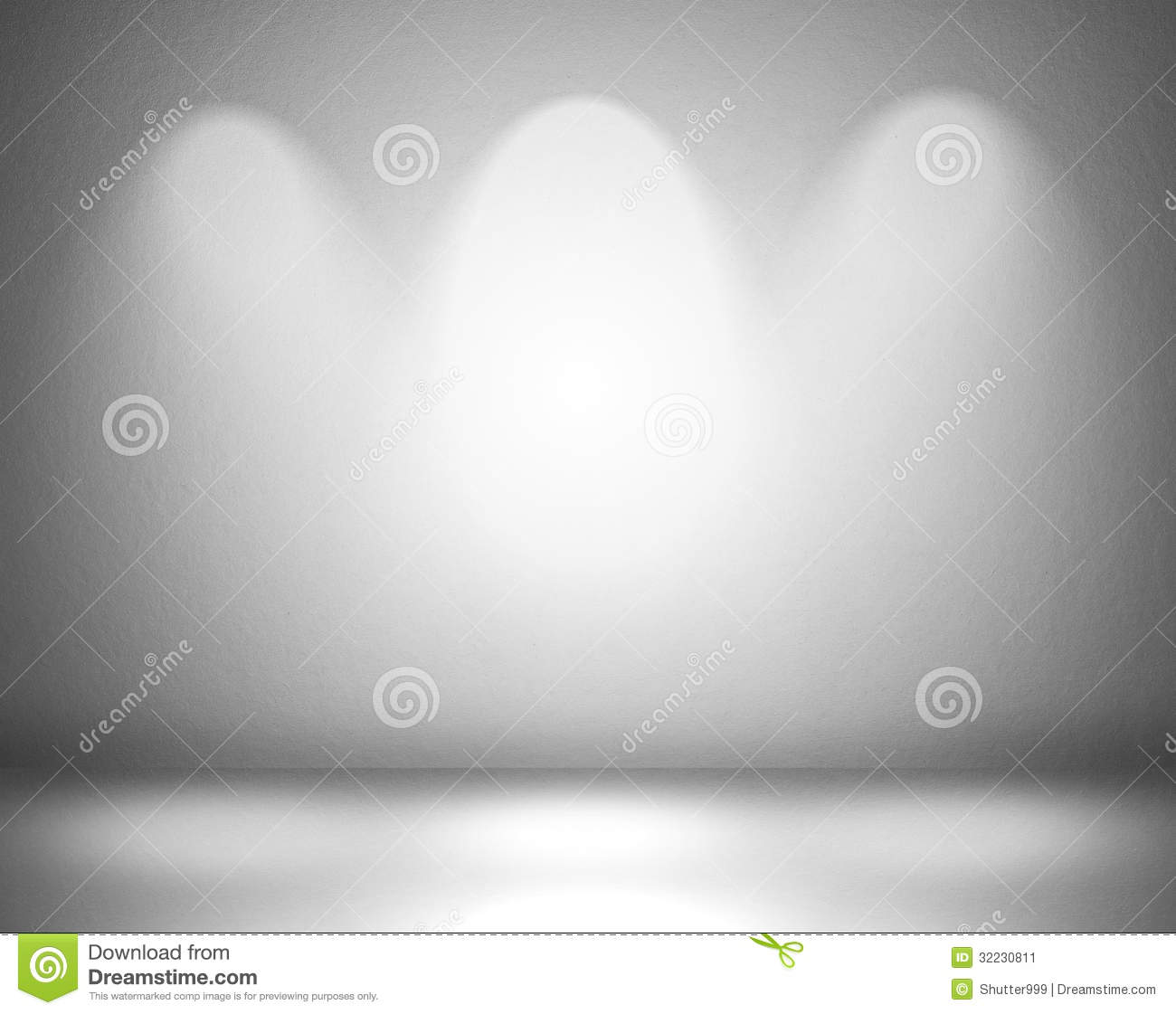 Empty wall with spot lights stock illustration illustration of empty wall with spot lights mozeypictures Choice Image