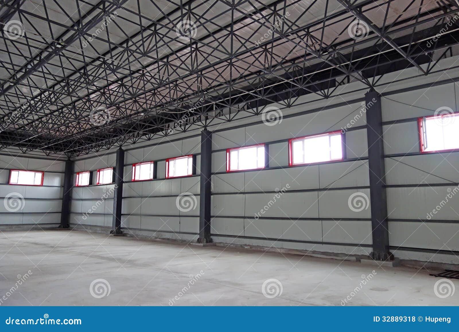 Empty Warehouse Stock Photo Image Of Distribution
