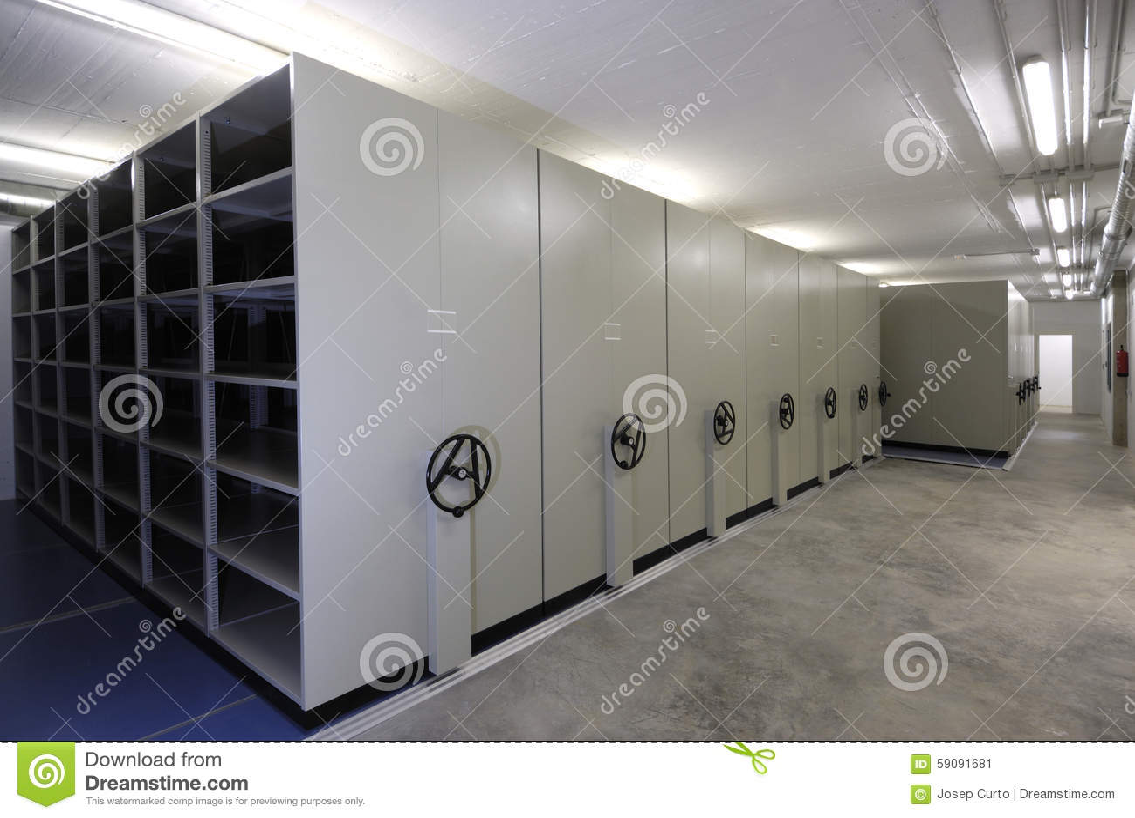 Empty Warehouse With Sliding Doors Stock Image Image Of Initiative