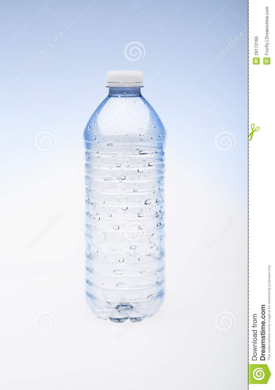 Empty Water Bottle With Cap Royalty Free Stock Image ...