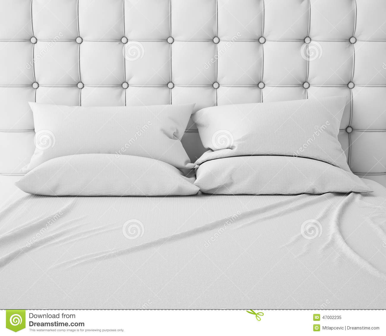 1 Bedroom Apartment Setup Empty Bedroom Background Bedroom Romance Images Bedroom Apartment: Empty White Bed And Pillows With Luxury Headboard Stock