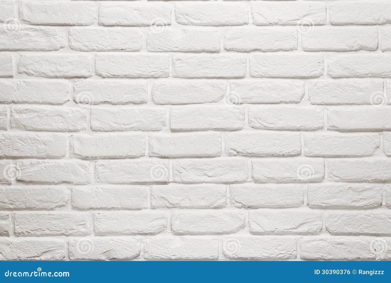 Empty White Brick Wall Royalty Free Stock Image Image