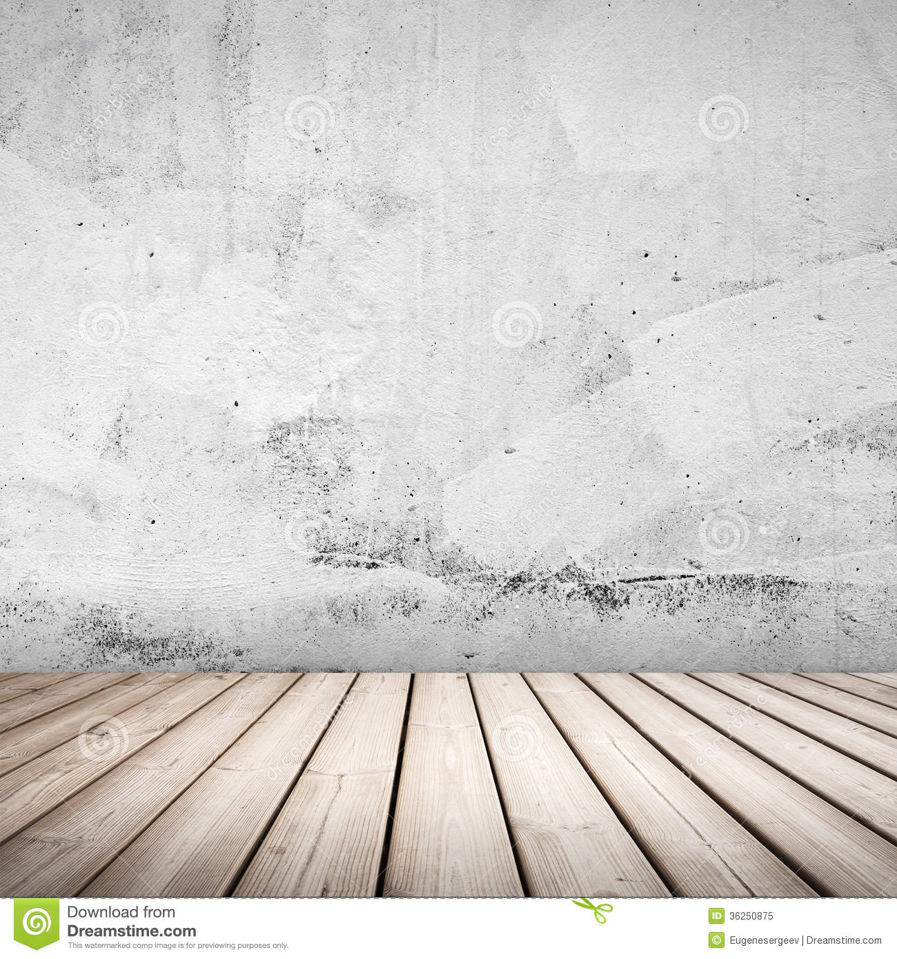 Empty White Concrete Interior Background Royalty Free Stock Photo ...