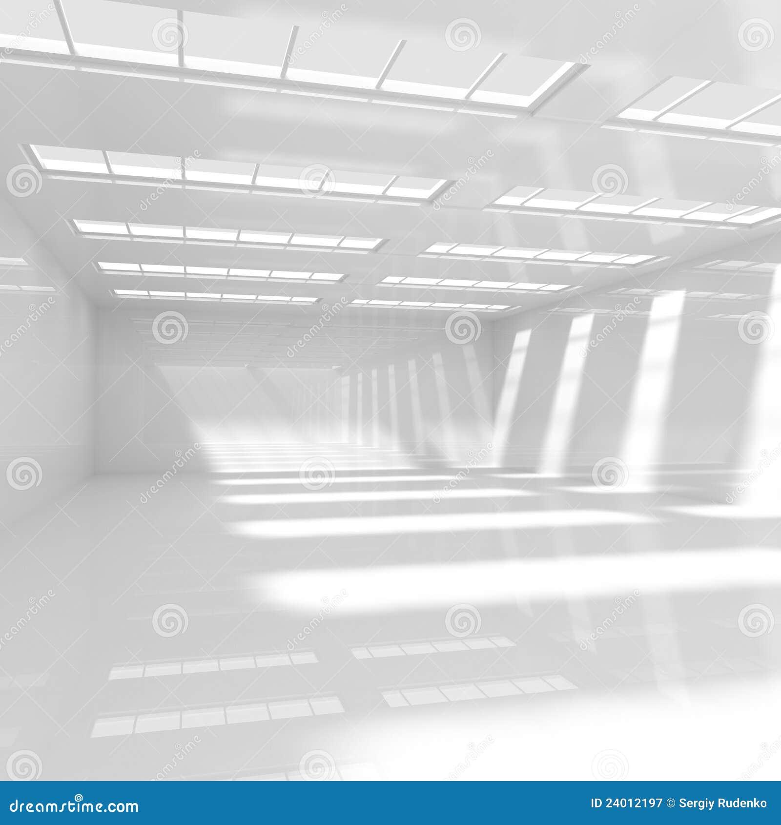 Empty White Room stock illustration. Illustration of inside - 24012197