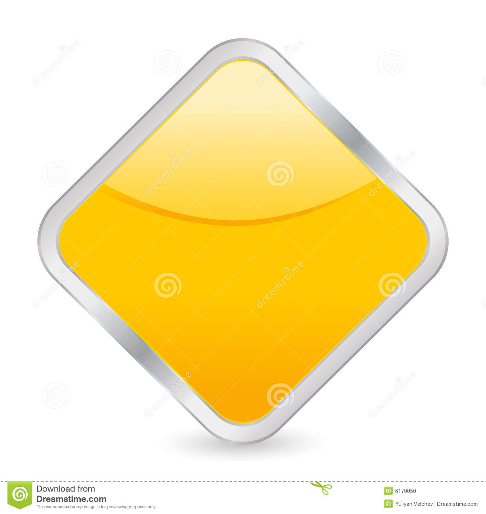 Empty yellow square icon stock vector illustration of symbol empty yellow square icon buycottarizona Gallery