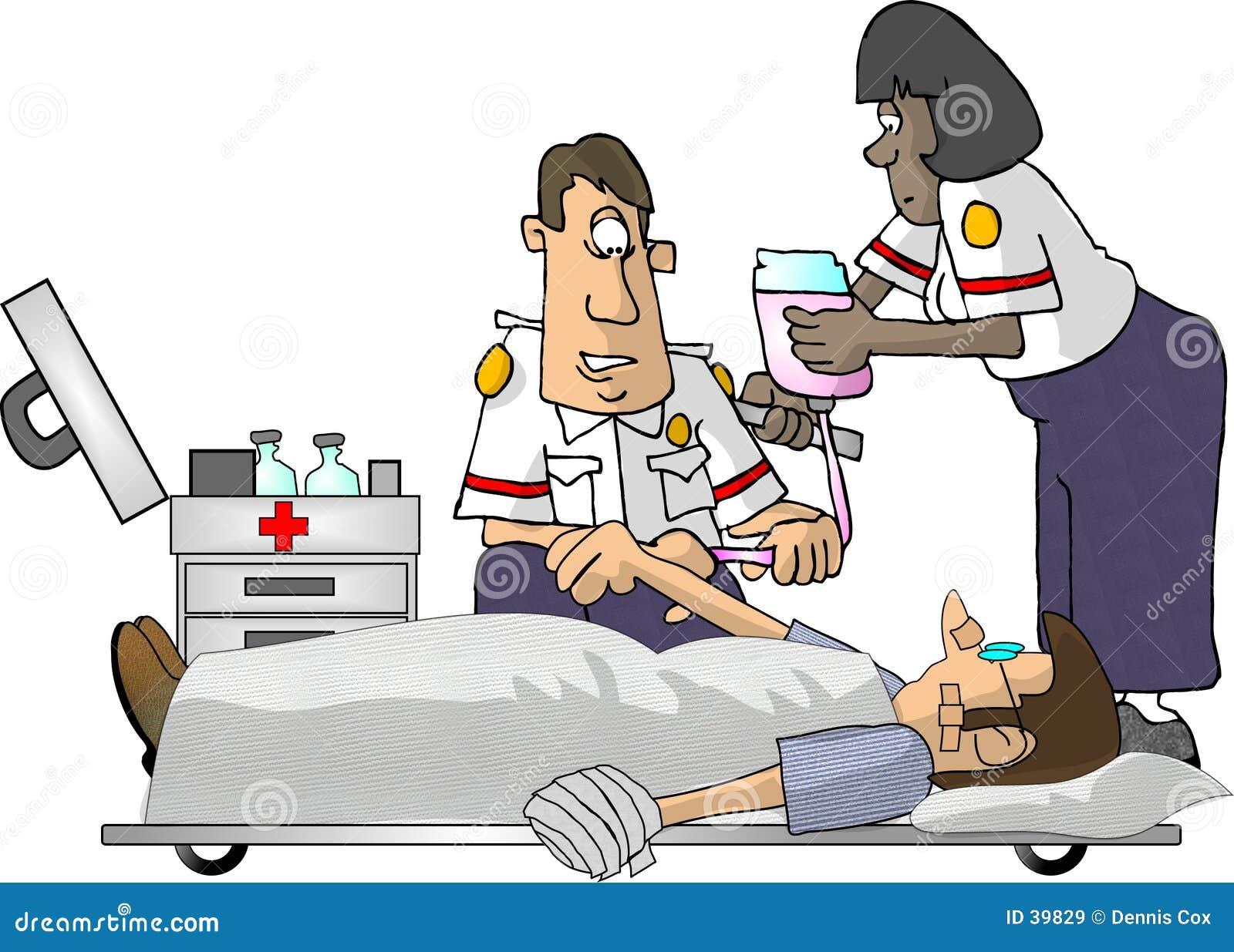 Emtperson med paramedicinsk utbildning