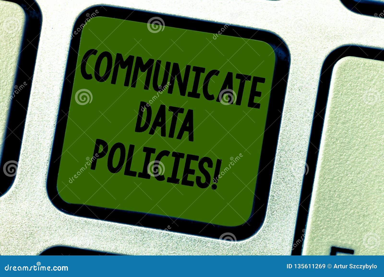 En écrivant l apparence de note communiquez les politiques de données Protection de présentation de photo d affaires de transmiss