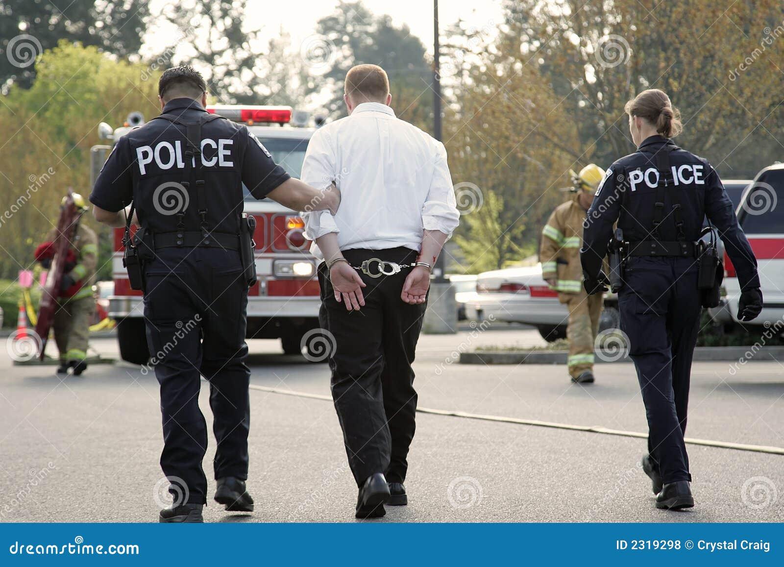 En état de l arrestation