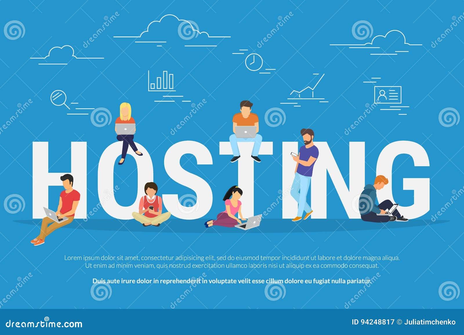 En accueillant le concept dirigez l illustration des jeunes à l aide des ordinateurs portables pour l Internet et en travaillant