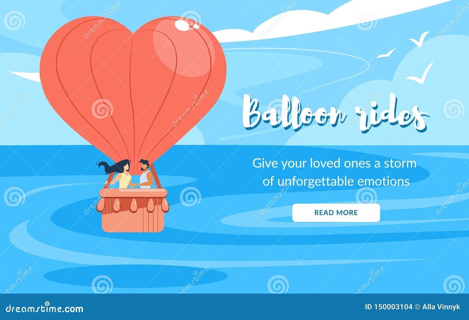 En aimant couplez dans le panier, monte le vol de ballon à air