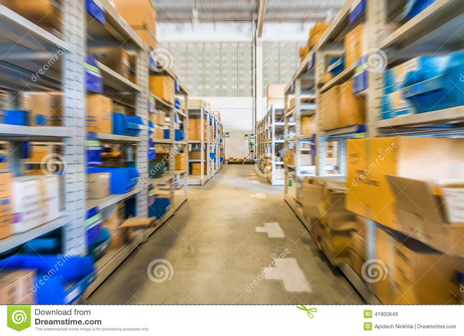 En almacén