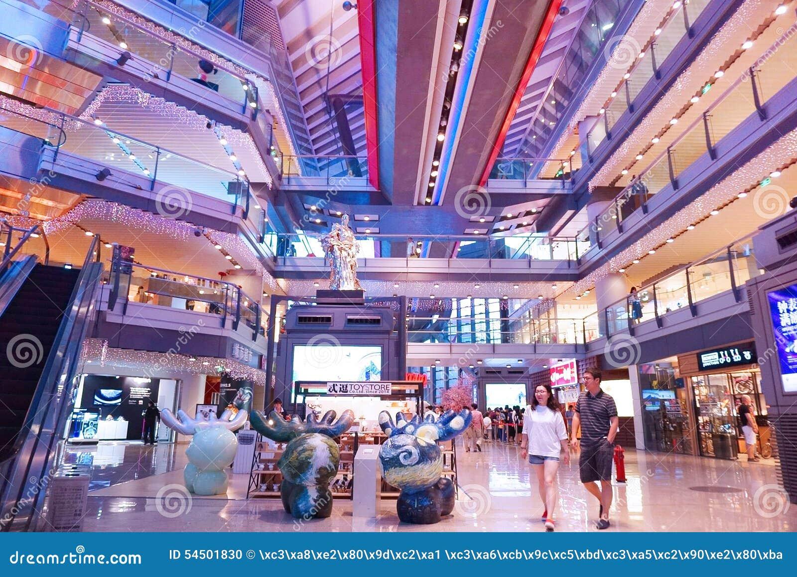 En Asie, Pékin, Chine, bâtiment vert de Parkview