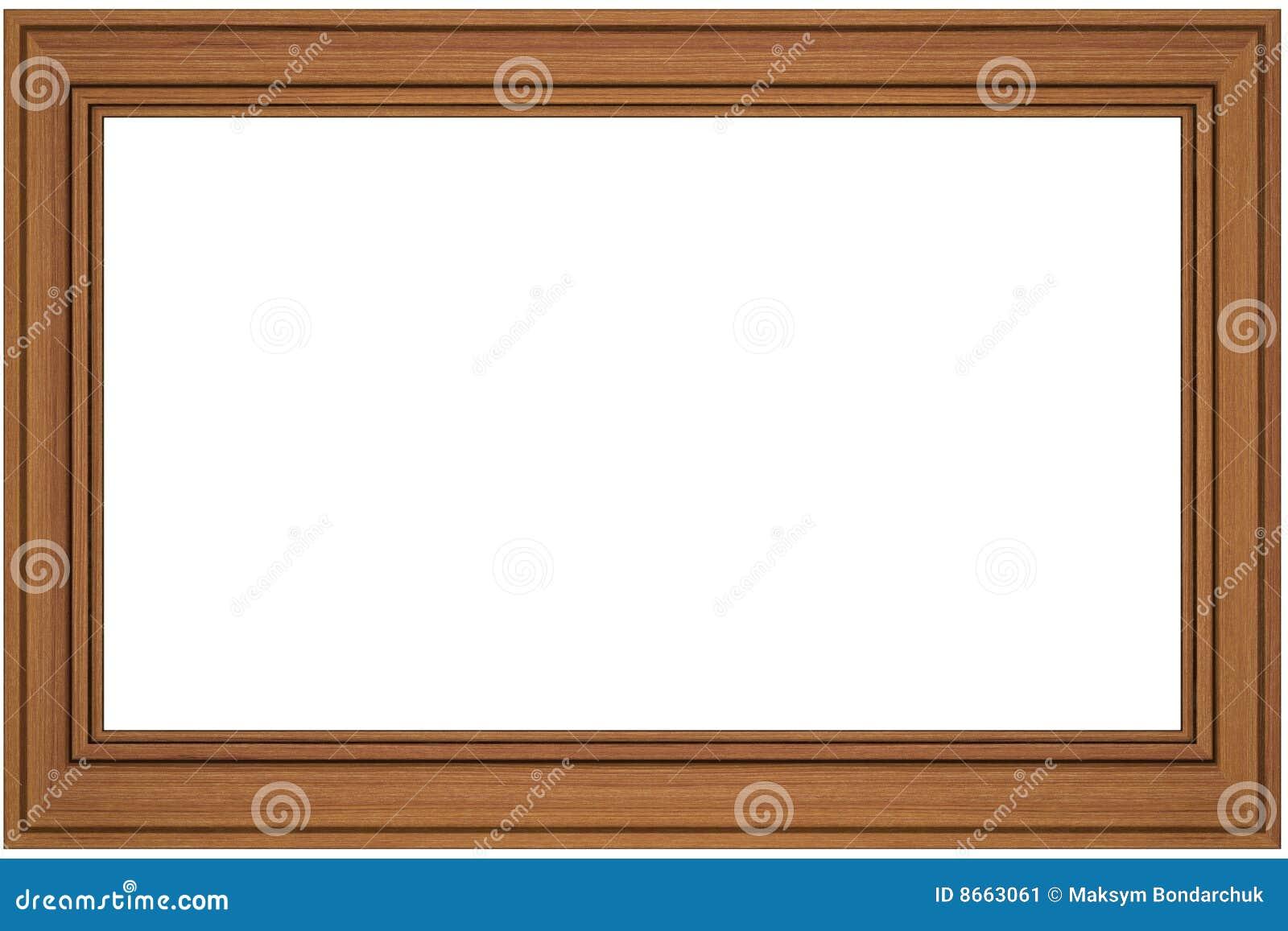 En bois blanc d isolement par trame blanc
