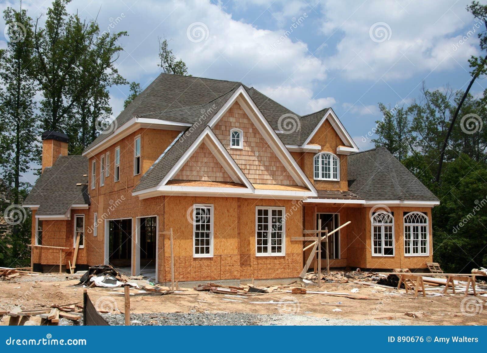 En construction à la maison