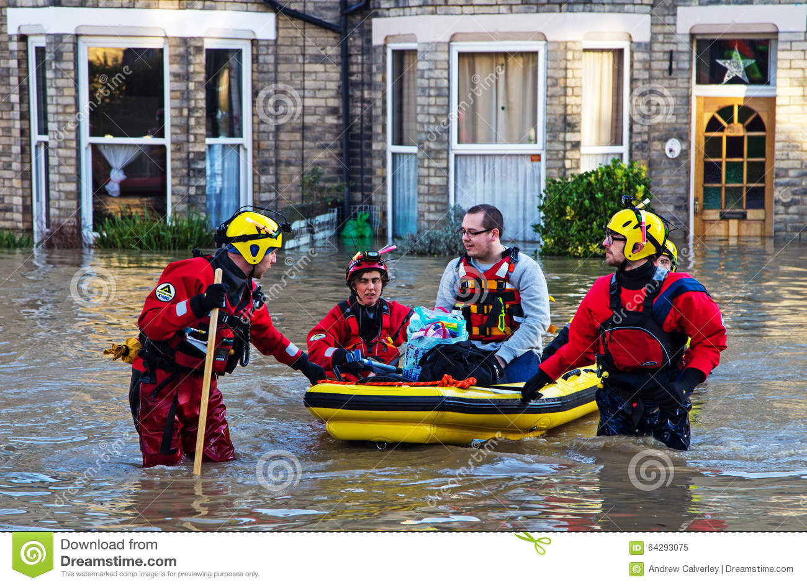 En diciembre de 2015 inundaciones de York