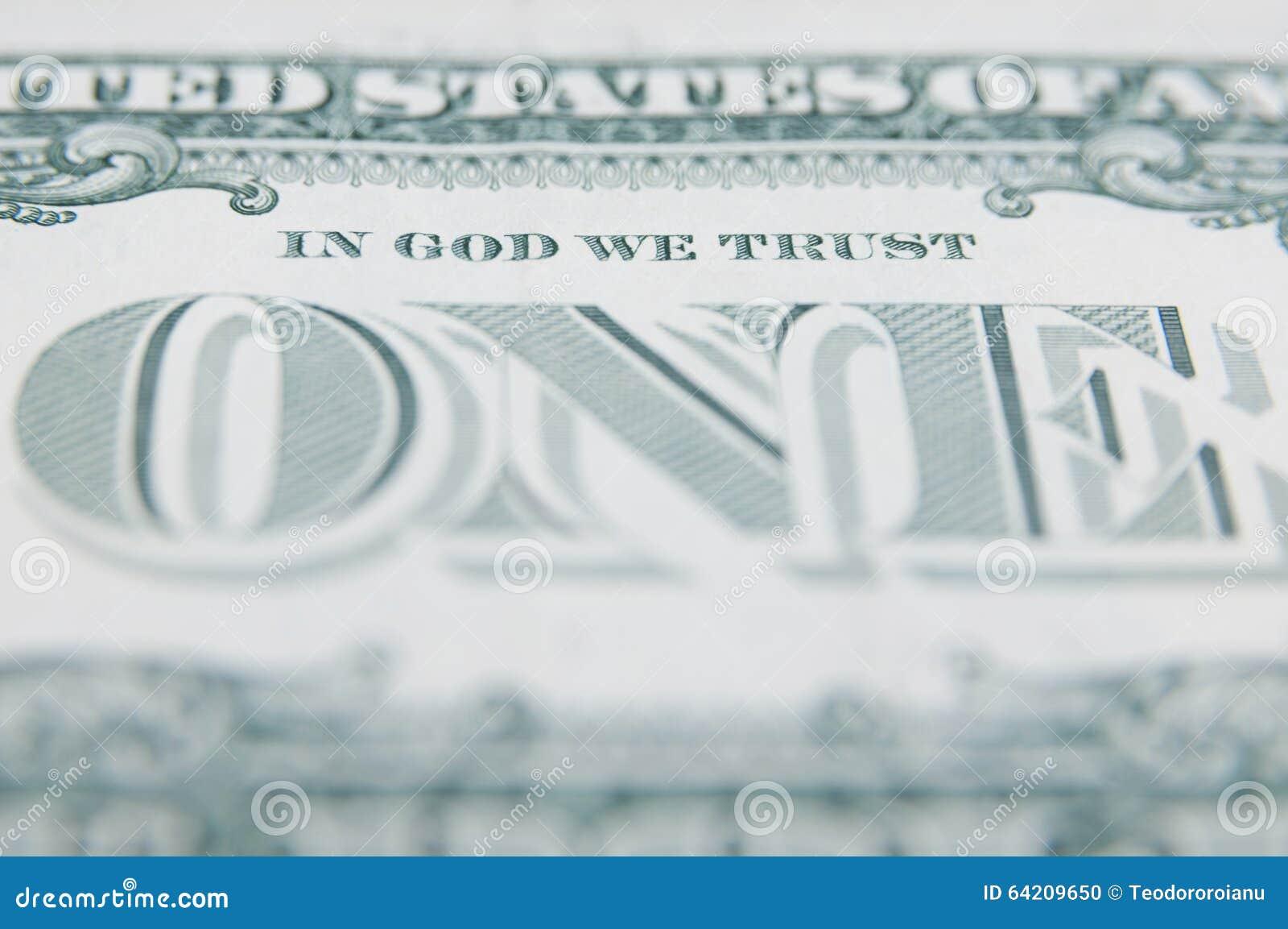 En dios confiamos en