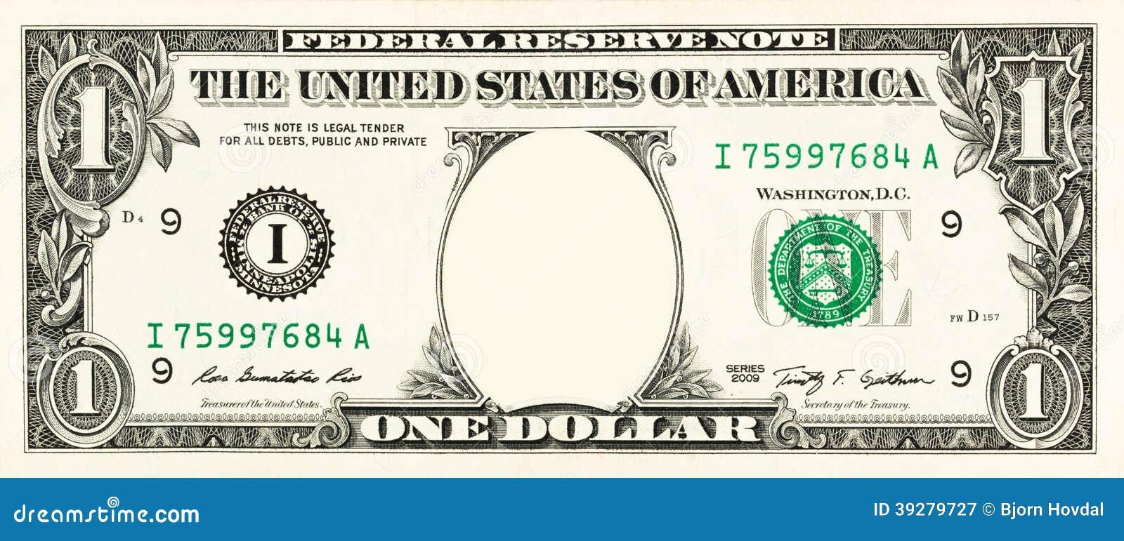 En dollarräkning