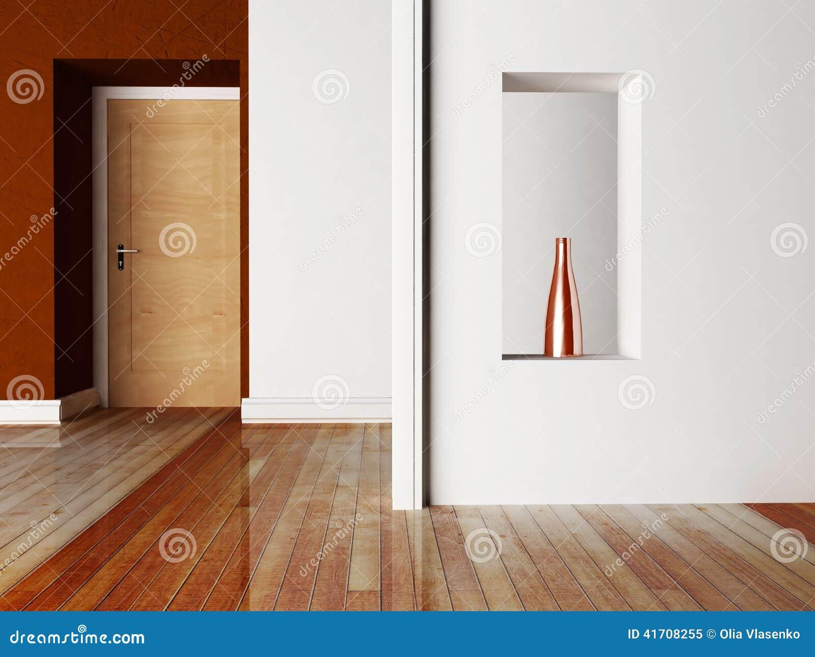En dörr och en nisch stock illustrationer   bild: 41708255
