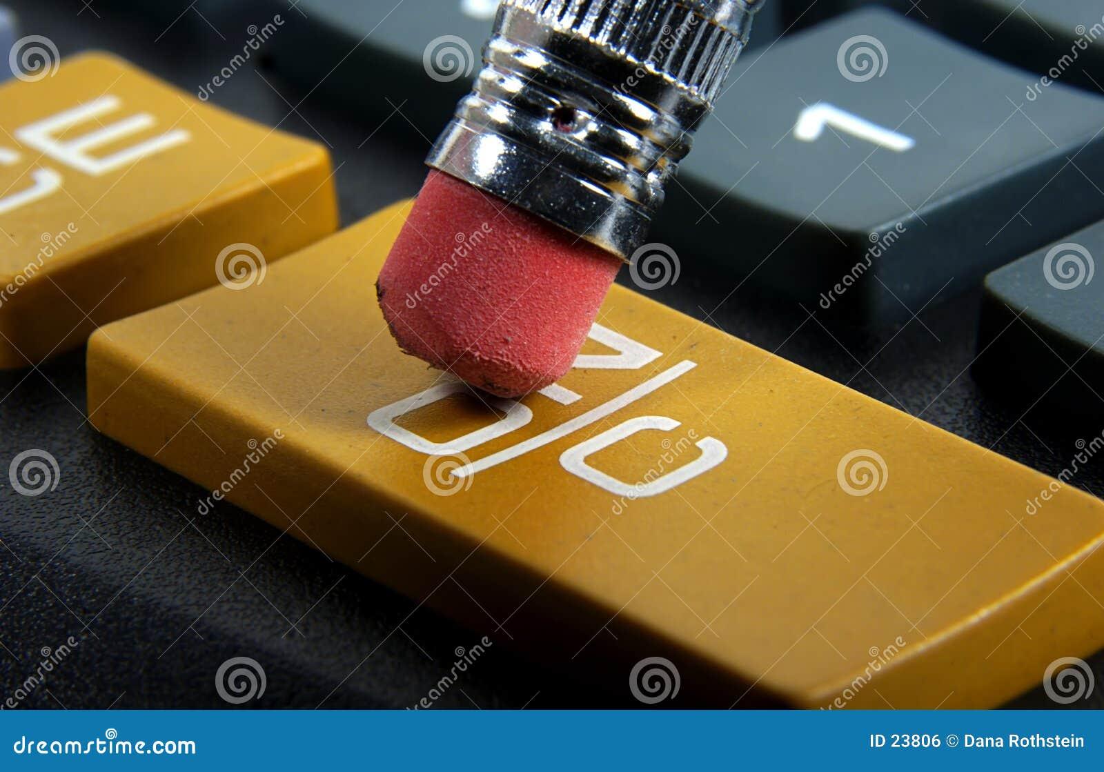 En el botón