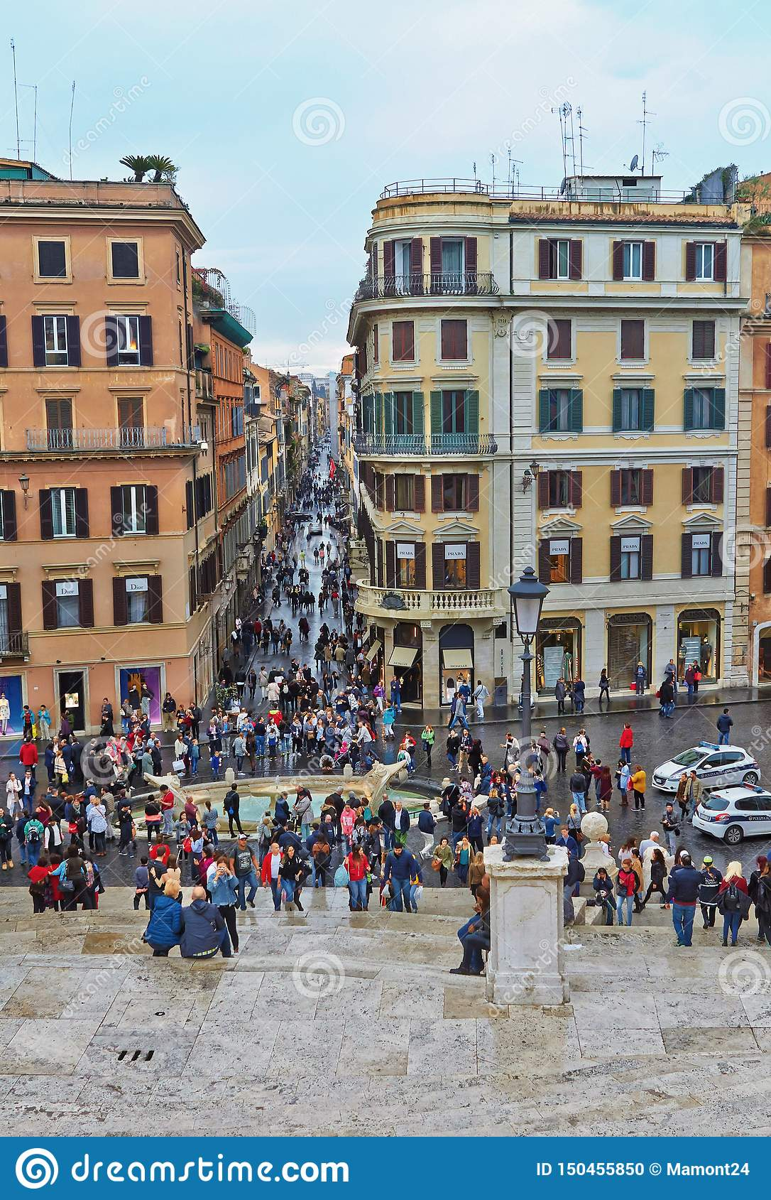 En el centro histórico de Roma Italia V?a Condotti