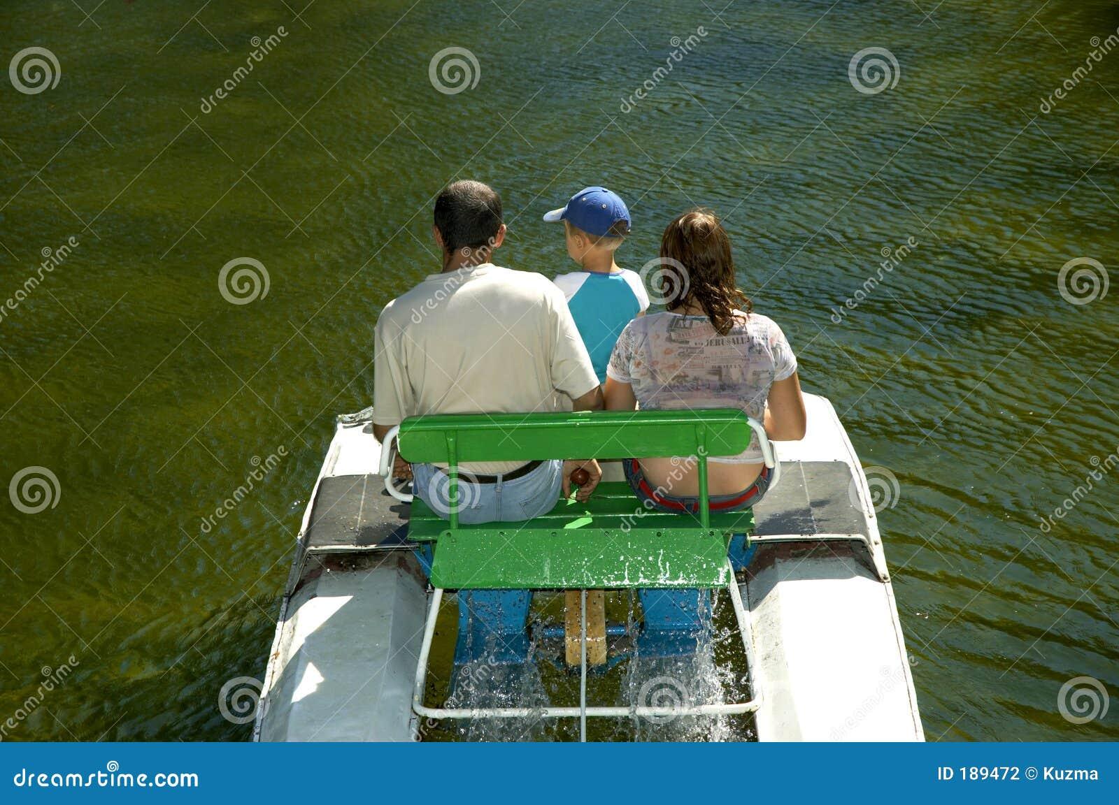 En el parque del agua