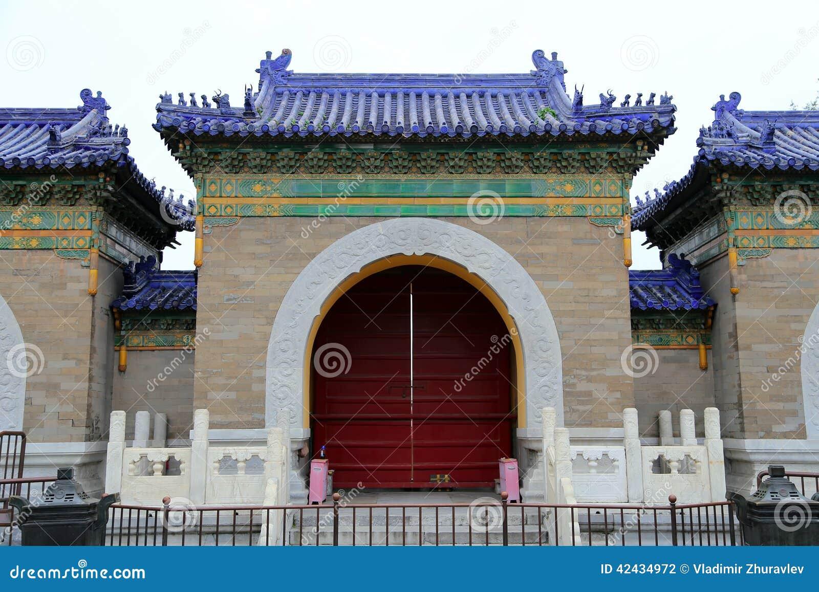 En el territorio del Templo del Cielo), Pekín, China